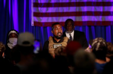 #VOA: Kanye Campaign Workers in Wyoming Got Too Close To Polls, Official Says. #VOANews