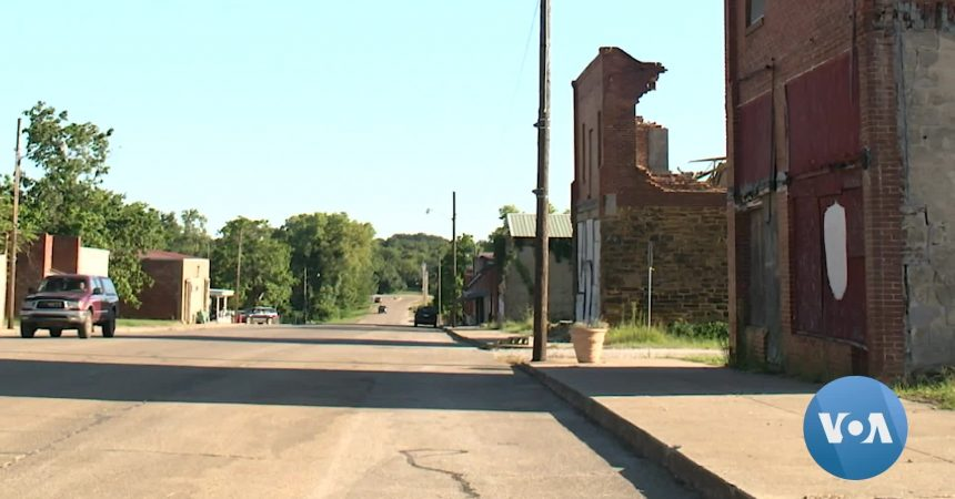#VOA: Founded by Former Slaves, Oklahoma's All-Black Towns Struggle to Survive. #VOANews