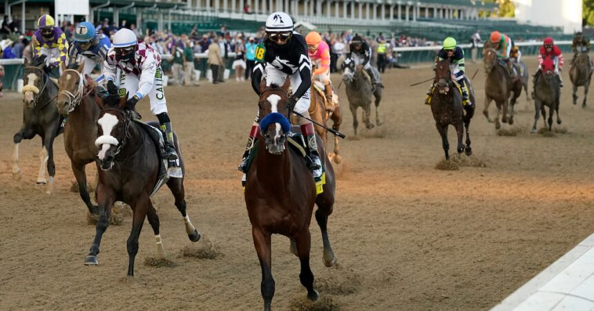 #VOA: Authentic Holds Off Tiz the Law to Win Kentucky Derby. #VOANews