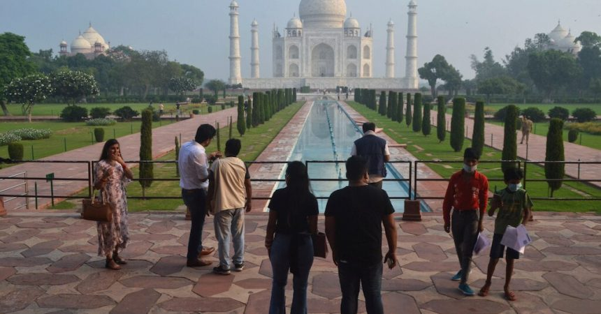 #VOA: Slow Reopening for India's Taj Mahal After 6-Month COVID Shutdown. #VOANews
