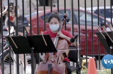 #VOA: Pandemic Inspires NY Philharmonic Pop-Up Concerts. #VOANews