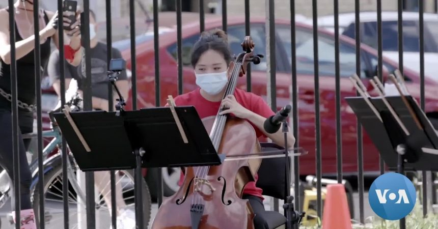 #VOA: Pandemic Inspires NY Philharmonic Pop-Up Concerts  . #VOANews