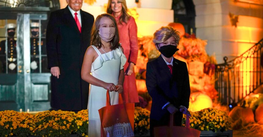 #VOA: Halloween Goes On at  White House With a Few Twists. #VOANews