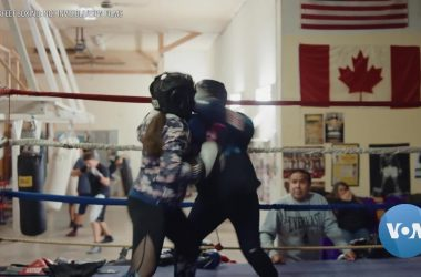 #VOA: Blackfeet Boxing Documentary Casts Light on Missing and Murdered Indigenous Women. #VOANews