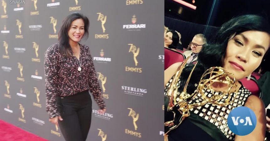 #VOA: Emmy-Winning Visual Effects Artist Draws From Her Cambodian Roots. #VOANews