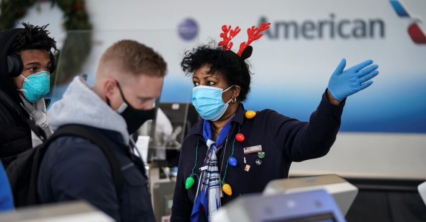 #VOA: TSA: Nearly 1.3 Million Travel by Air Over Christmas, Pandemic Record. #VOANews