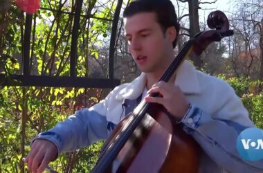 #VOA: Virginia Cellist Goes from COVID Depressed to TikTok Star. #VOANews
