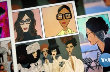 #VOA: NYC Fashion Illustrator Shares COVID Stories Through Art. #VOANews