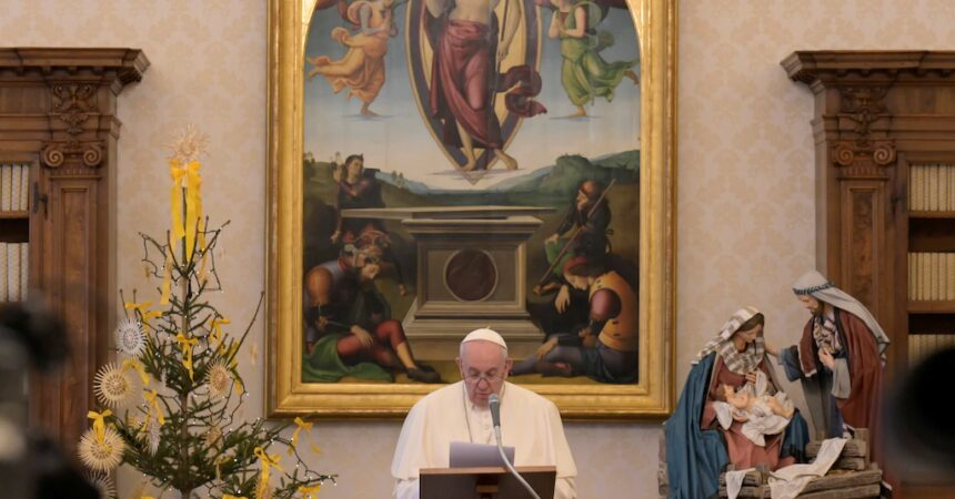#VOA: Pope Reappears After Pain Flare-up, Calls for Peace in New Year Message. #VOANews