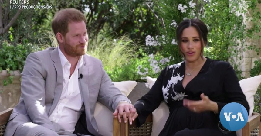 #VOA: Race and the Royals: Meghan And Harry Interview Plunges Palace Into Crisis. #VOANews