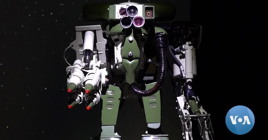 #VOA: Futuristic Robots Bring Objects from the Past Back to Life. #VOANews