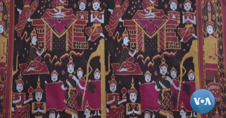 #VOA: Traditional Cambodian Silk Ikat at Risk of Extinction. #VOANews