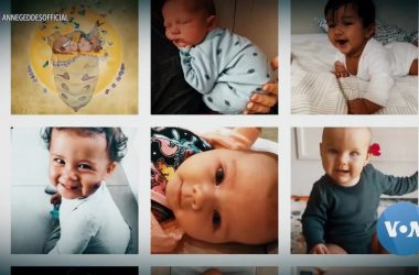 #VOA: Spreading Joy: Collection of Photos Features Babies Born During Pandemic. #VOANews
